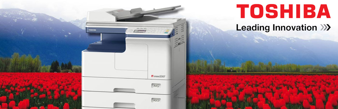 Combat Computers is an Authorized Reseller of Toshiba Digital Copiers